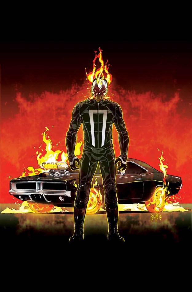 Ghost Rider Drives A Charger Mopar Blog