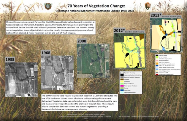 Vegetation Mapping for National Park Service Phase 2   MoRAP MoRAP worked with the National Park Service  NPS  as part of a nationwide  vegetation mapping effort  This portion of the project was conducted at  Herbert