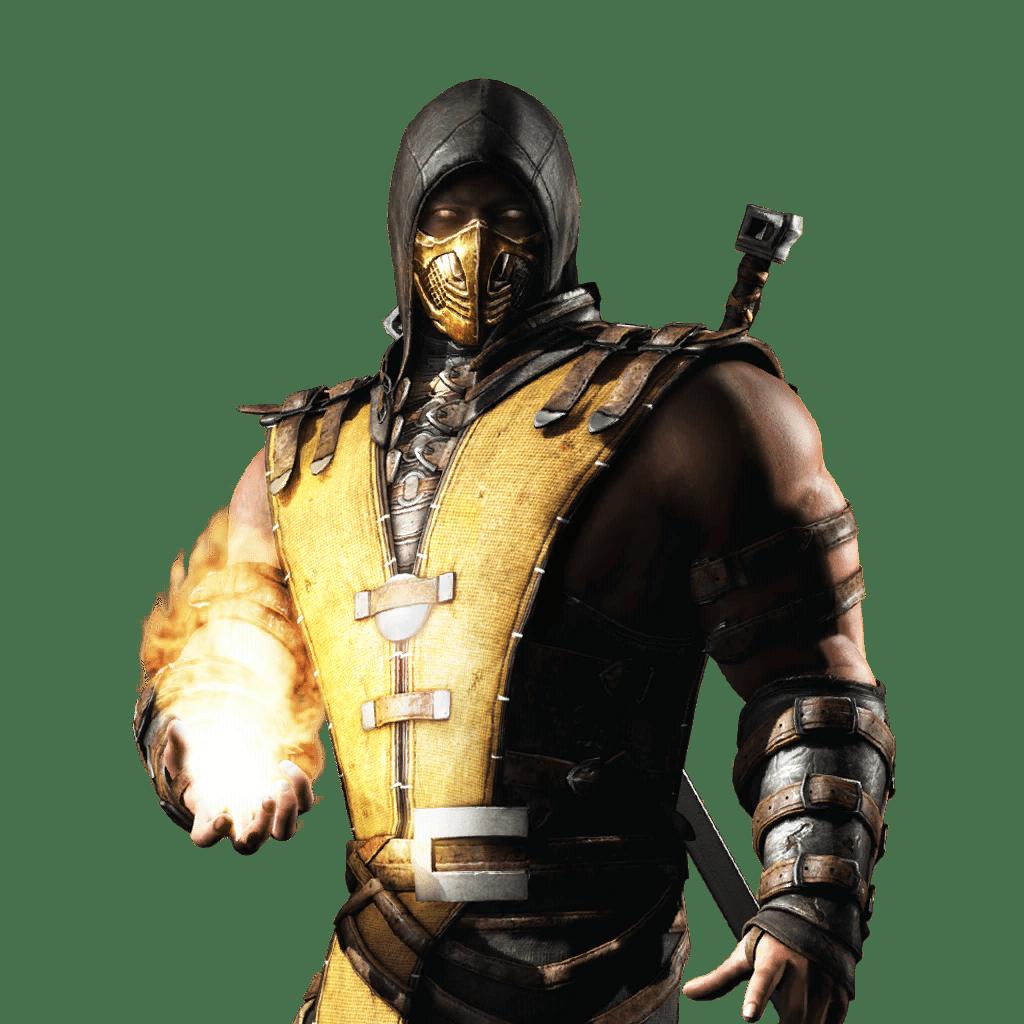 Mkwarehouse Mortal Kombat Mobile Scorpion