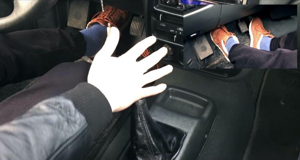 Dirigindo um carro de um novato