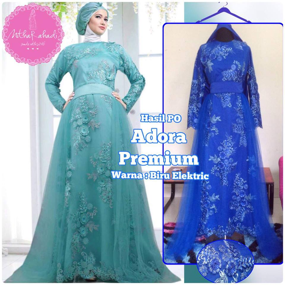 Image Result For Model Gamis Satin Silk
