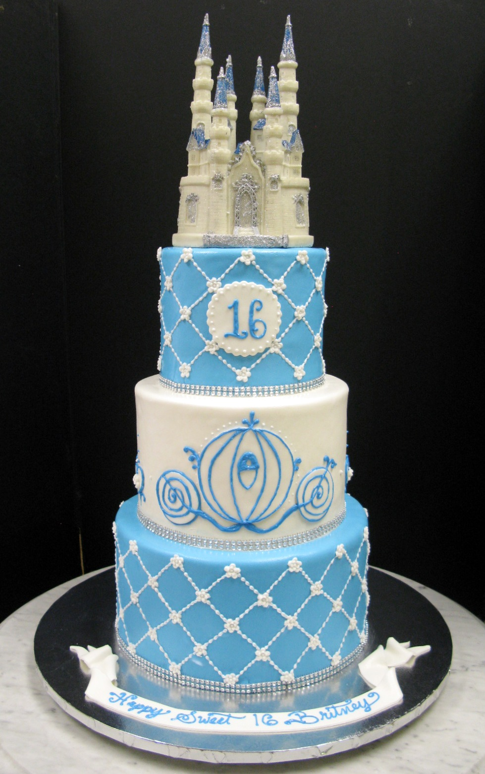Light Blue And Birthday Decorations