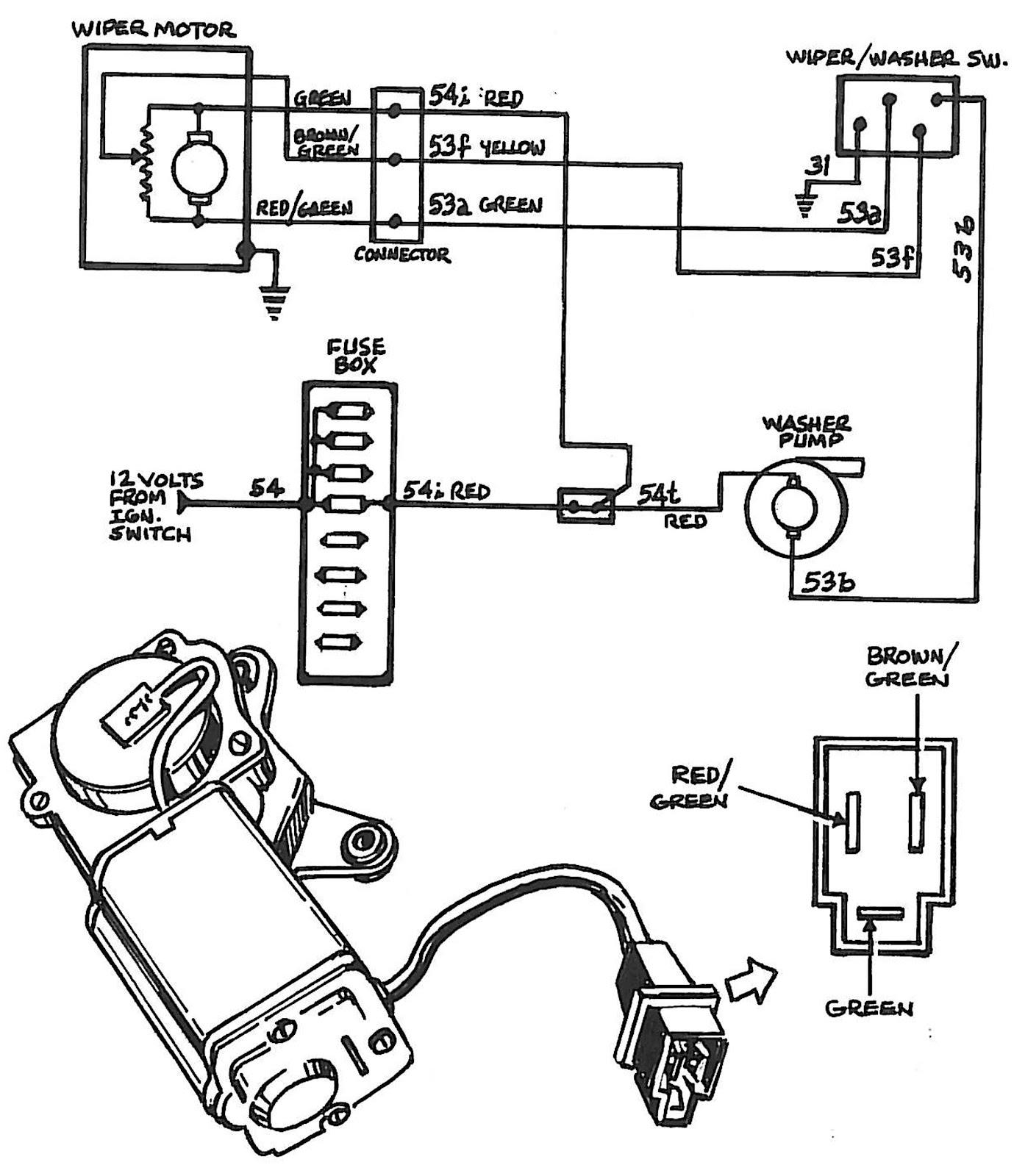 2003 chevy suburban rear wiper motor wiring diagram image details