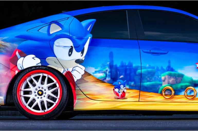 2016 Honda Sonic Civic ฉลอง 25 ปี Sonic the Hedgehog