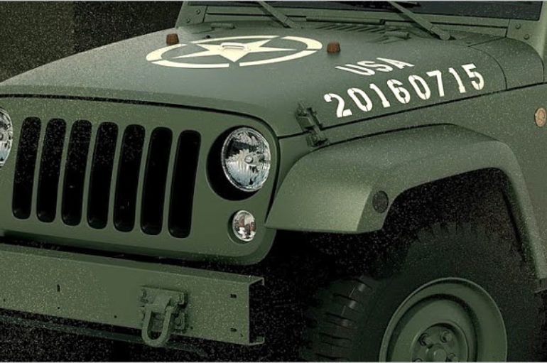 2016 Wrangler 75th Salute Concept ต้นแบบฉลอง 75 ปี Willys