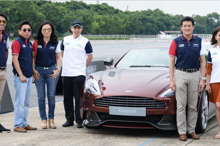 Aston Martin Driving Experience 2016