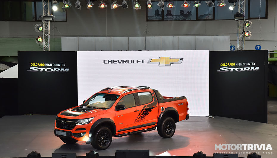 Chevrolet Colorado High Country STORM เสริมชุดแต่ง Thunder