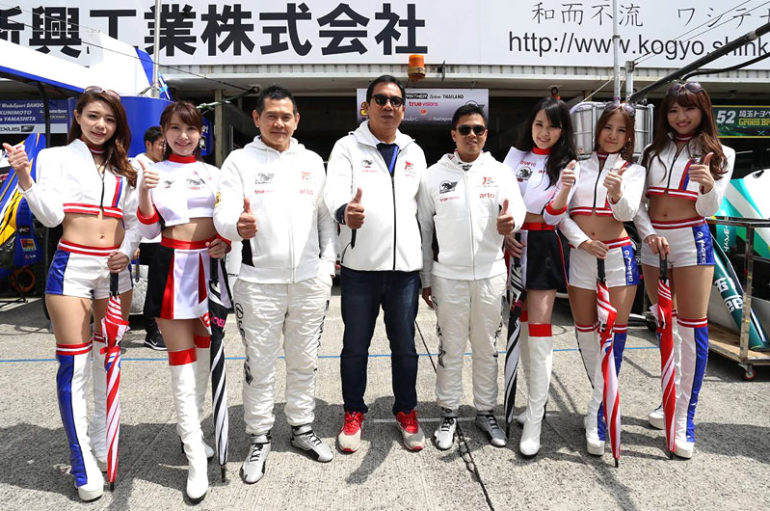 Arto Panther Team Thailand พร้อมลงแข่ง Super GT 2018