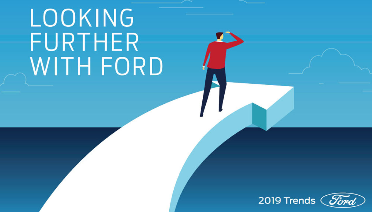 Looking Further with Ford Trends การเปลี่ยนแปลงที่มีต่อโลกและพฤติกรรม