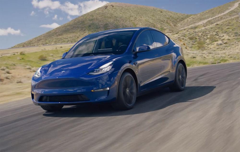 2021 Tesla Model Y ครอสโอเวอร์ไฟฟ้า 7 ที่นั่งรุ่นใหม่จากเท ...