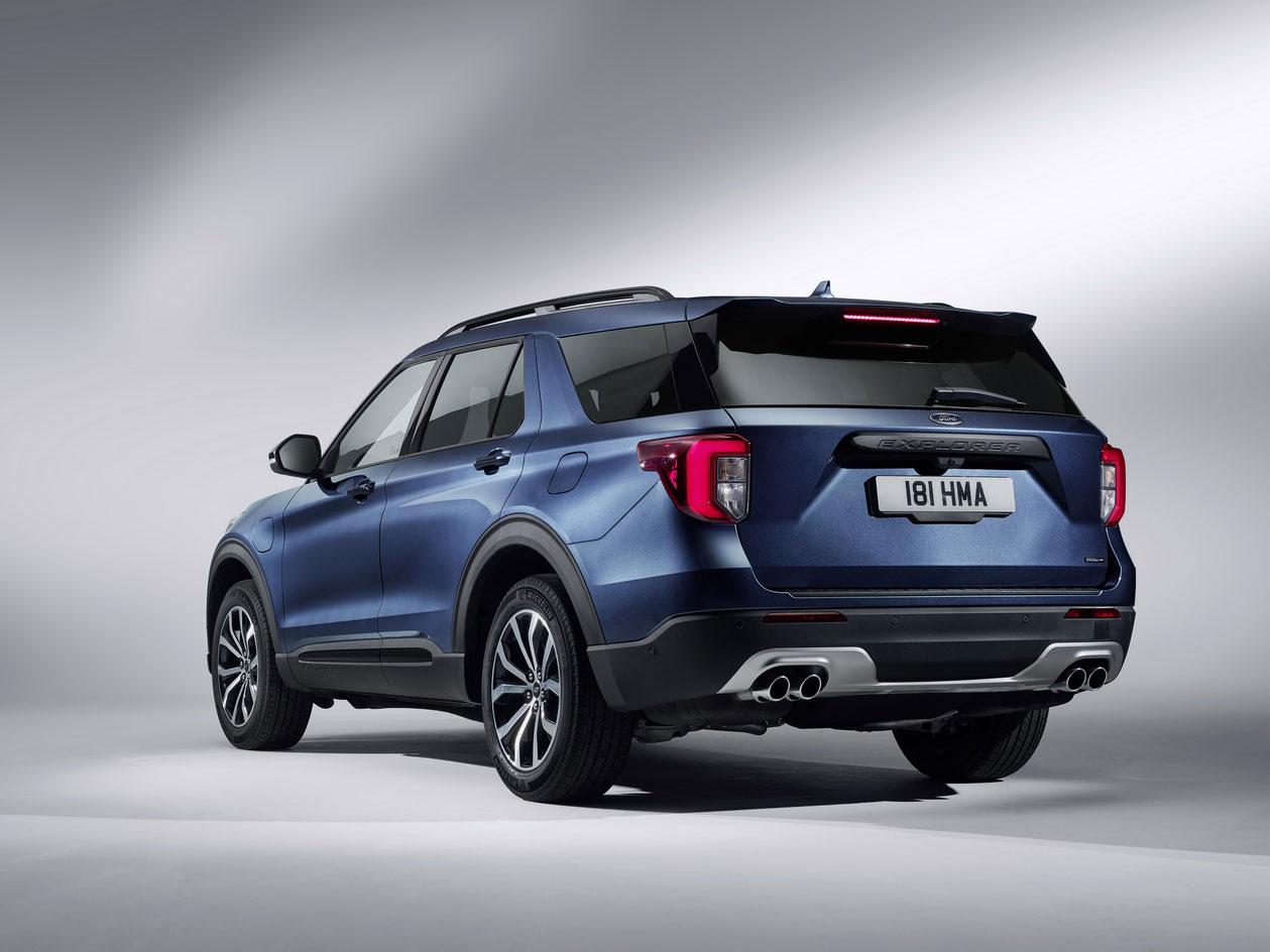 2020 ford explorer plug-in hybrid เตรียมทำตลาดยุโรป