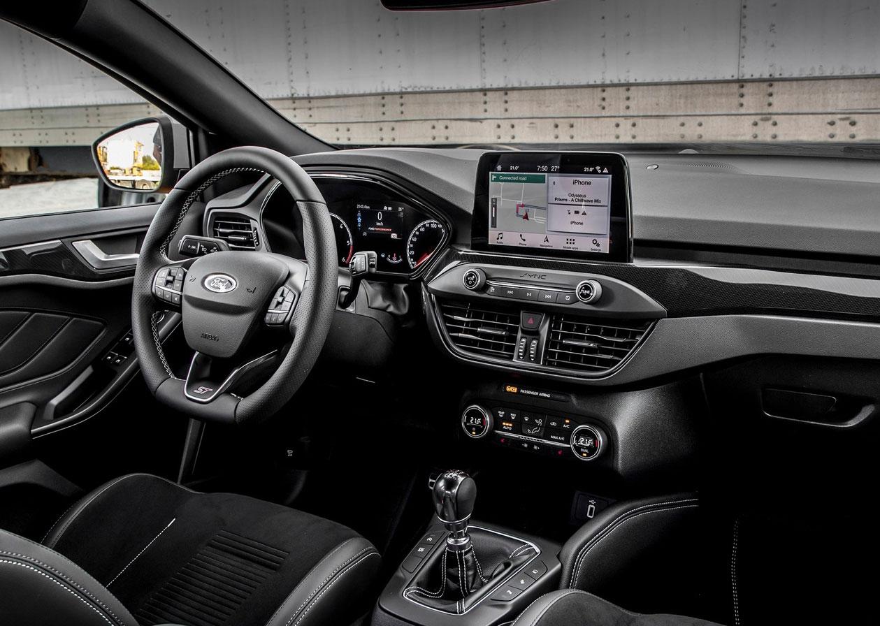 2020 Ford Focus ST ฮอทแฮทช์รุ่นล่าสุดของฟอร์ด ขยายความจุ