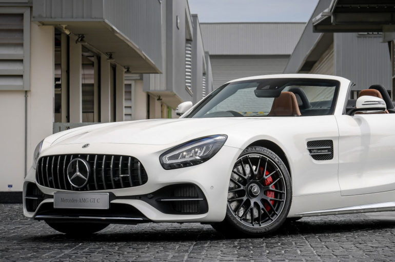 Mercedes เปิดตัว AMG GT C Roadster และ AMG GT 63 S 4MATIC+