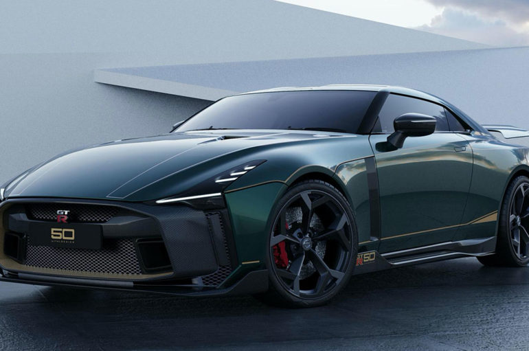 2021 Nissan GT-R50 by Italdesign ฉลอง 50 ปี 50 คัน
