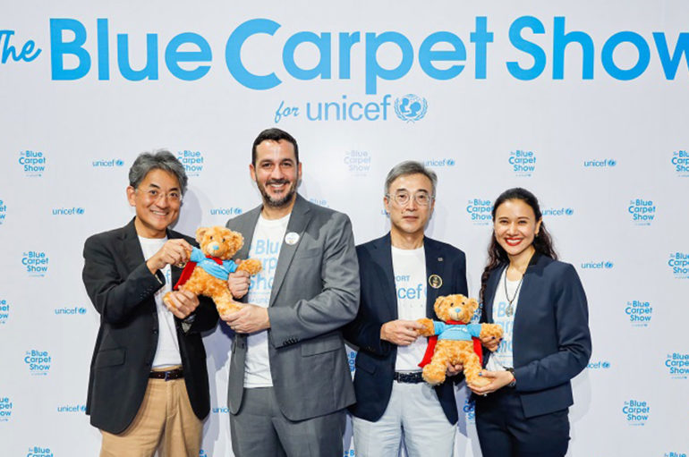 Bridgestone ร่วมงาน The Blue Carpet Show for unicef
