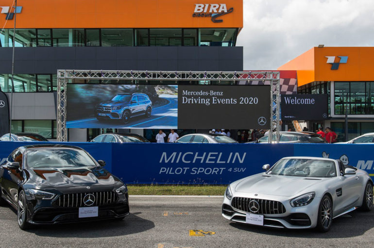 Mercedes-Benz Driving Events 2020