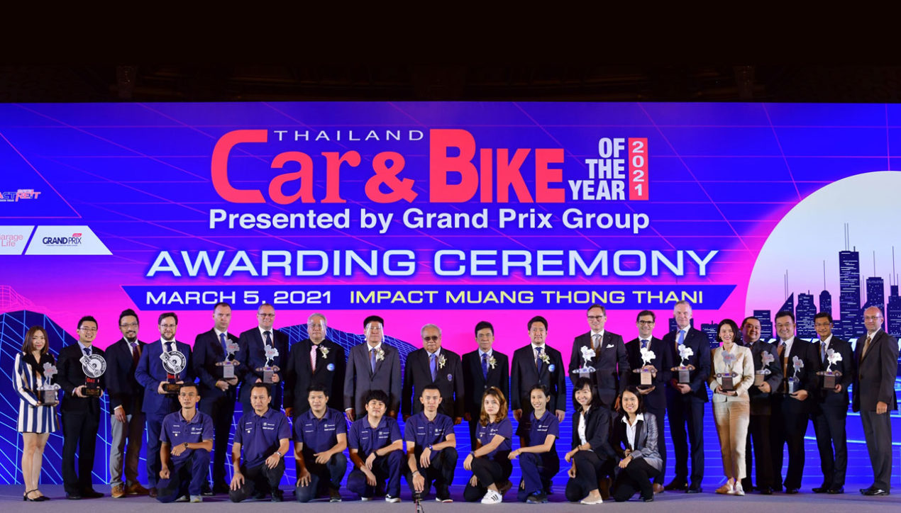 BMW Group รับ 12 Thailand Car & Bike of the Year 2021