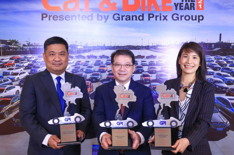 Ford รับ 3 รางวัล Thailand Car of the Year 2021