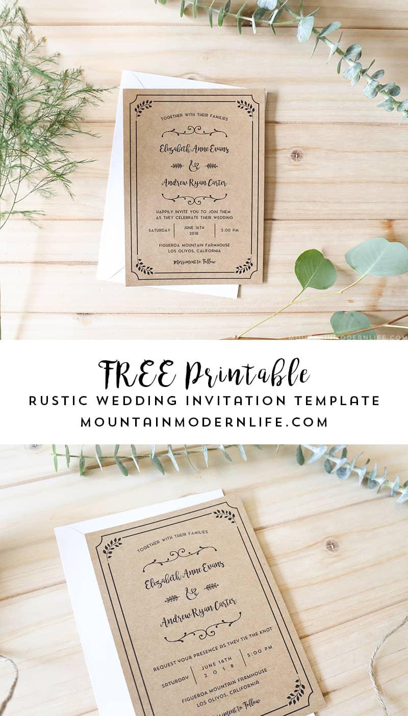Simple Wedding Cards Design Samples