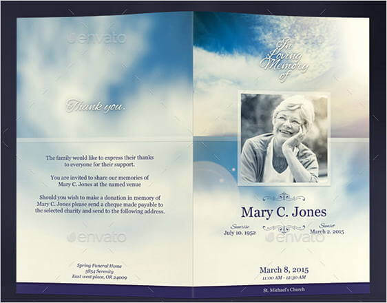 30 Free Download Obituary Template Sample Mous Syusa