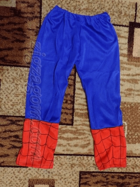 Spiderman - DIY costume for the new year