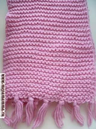Motivi per sciarpe a maglia Aghi per maglieria per sciarpa