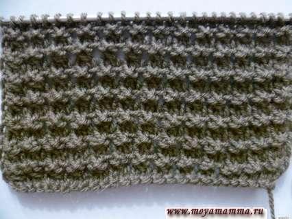 Aghi per maglieria modello per la sciarpa a maglia