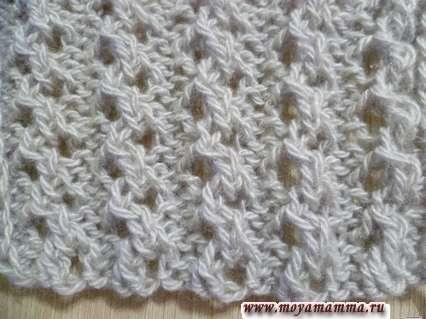 Motivi per sciarpe per maglieria Aghi per maglieria 2x2 per sciarpa