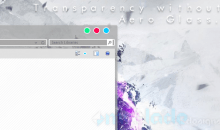 Transparency on Windows 8 & 8.1 without Aero Glass
