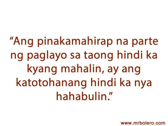 Tagalog Quotes Love Sweet