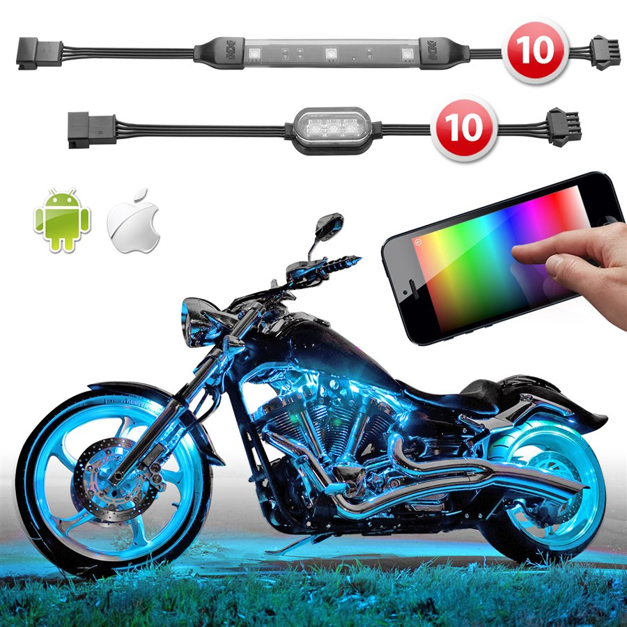 Led Light Kits Motorcycles