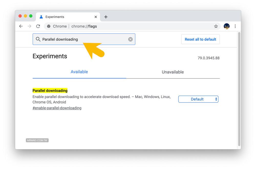 Chrome下载速度很慢?开启隐藏功能让Chrome下载速度翻倍1