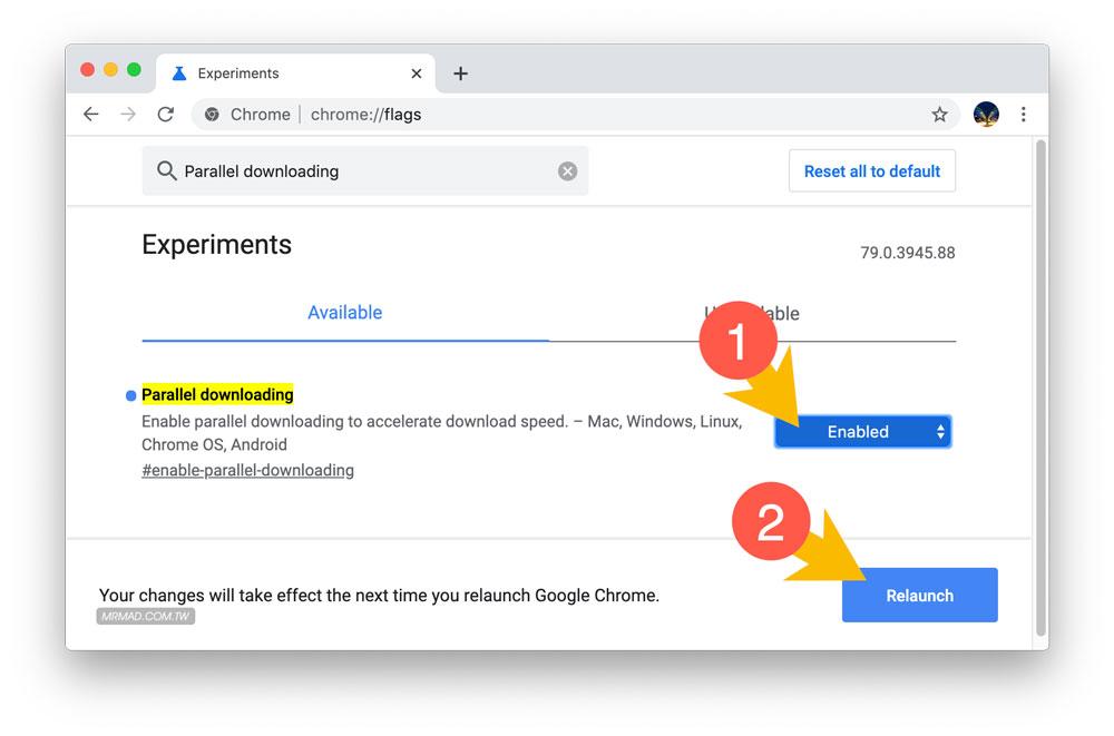 Chrome下载速度很慢?开启隐藏功能让Chrome下载速度翻倍2