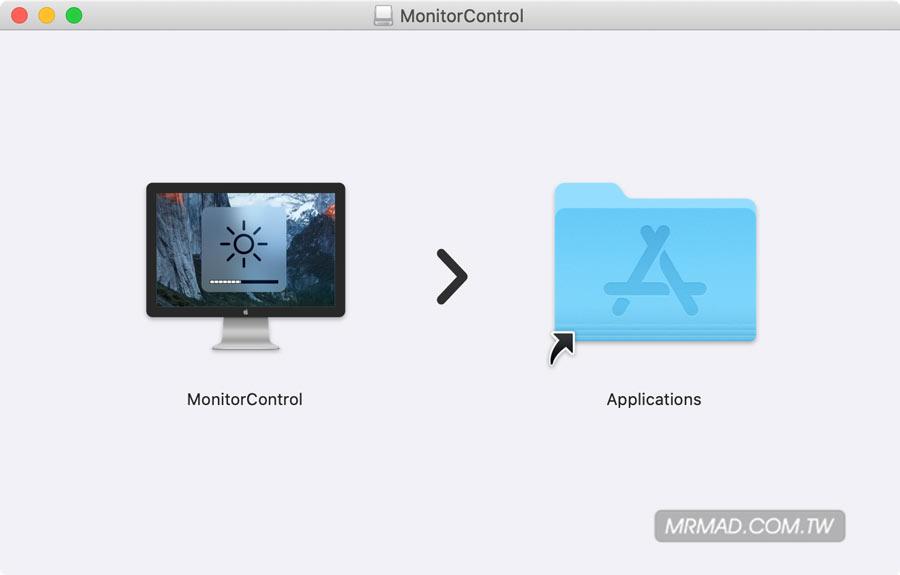 MonitorContrl – 免费开源的 Mac 外接屏幕亮度、对比度、音量调整工具