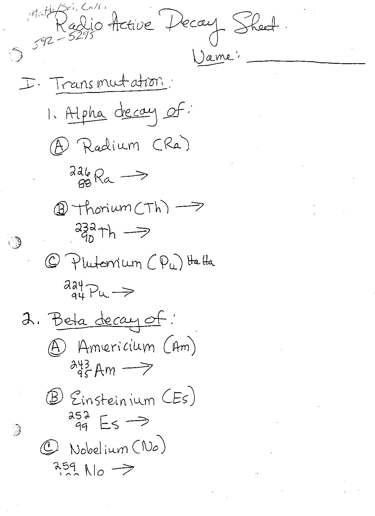 worksheet Nuclear Decay Worksheet With Answers nuclear decay worksheet answers free worksheets library download answers