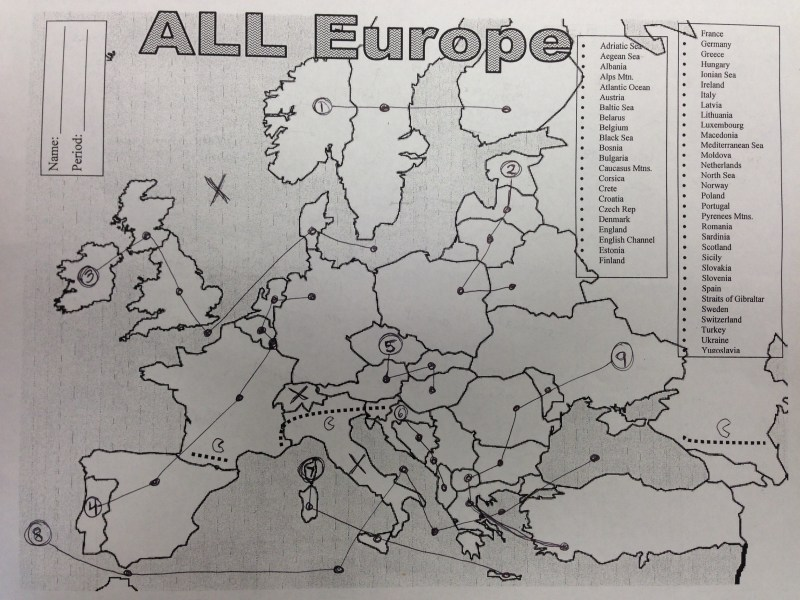 10 Tricks to Memorize the Map Of Europe   Mr Rojo s Classroom Image