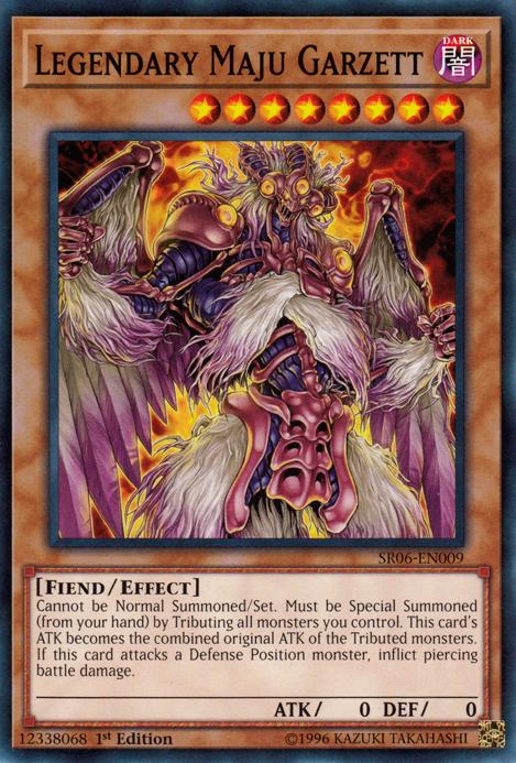 Monsters Fiend Type Gi Oh Yu
