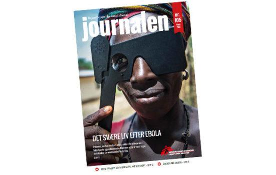 Journalen nr 105 fokuserer på det svære liv efter ebola