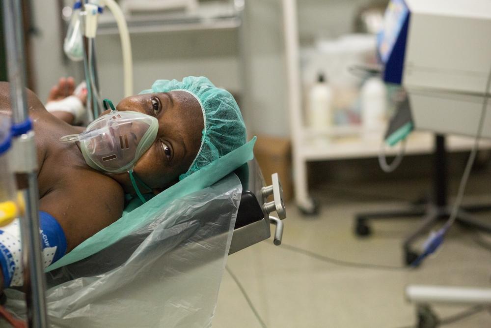 Billedet er fra Port au Prince i Haiti. Det er et af de lande, hvor vi på vores klinikker ser konsekvenserne af  usikre aborter.