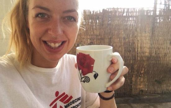 Gitte Rønde er udsendt som psykolog for Læger uden Grænser i Etiopien.