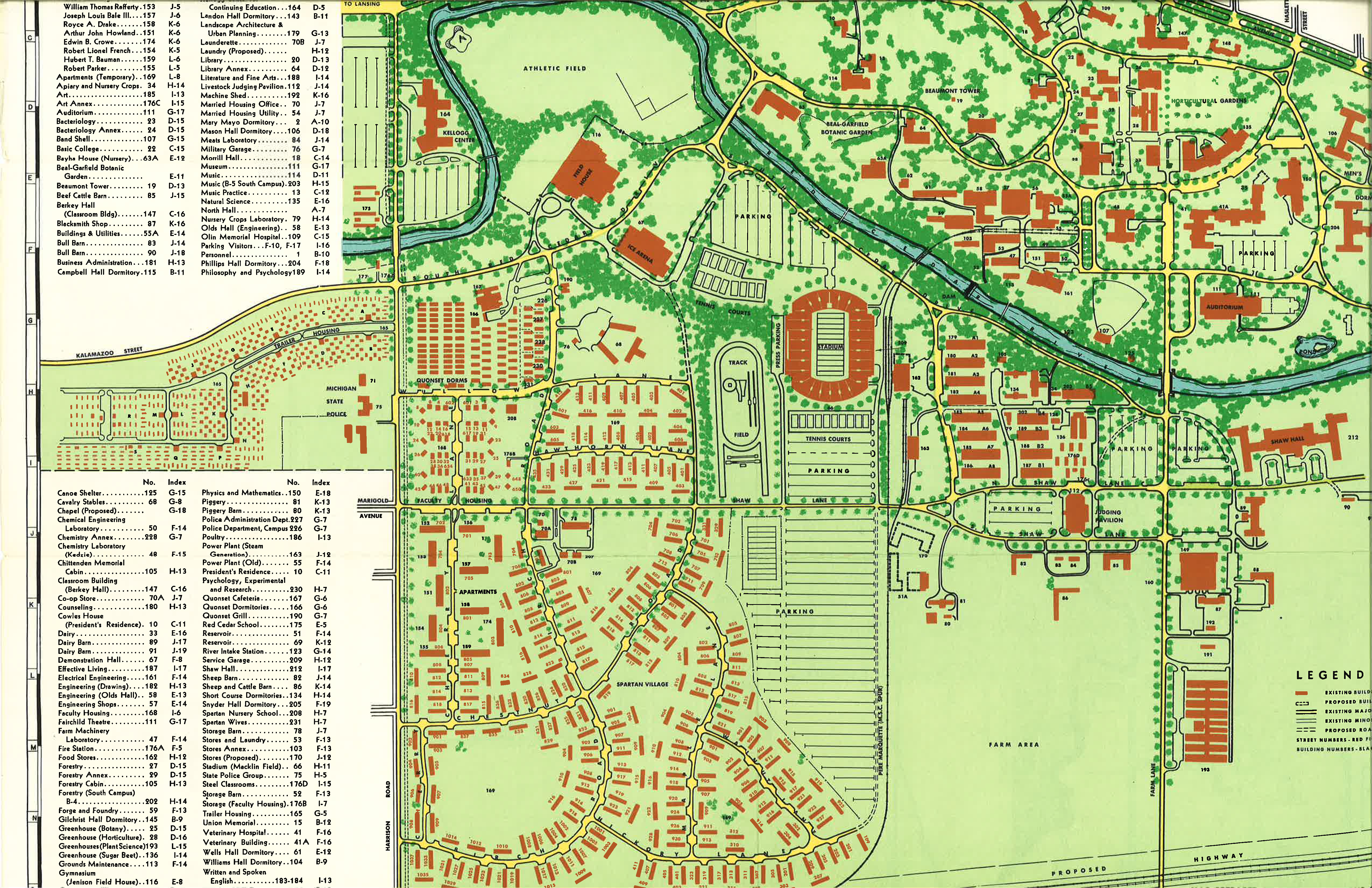 Tcc Campus Map map of ohio river fort myers map
