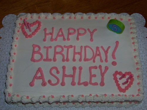 Happy Birthday Ashley Multicrazy