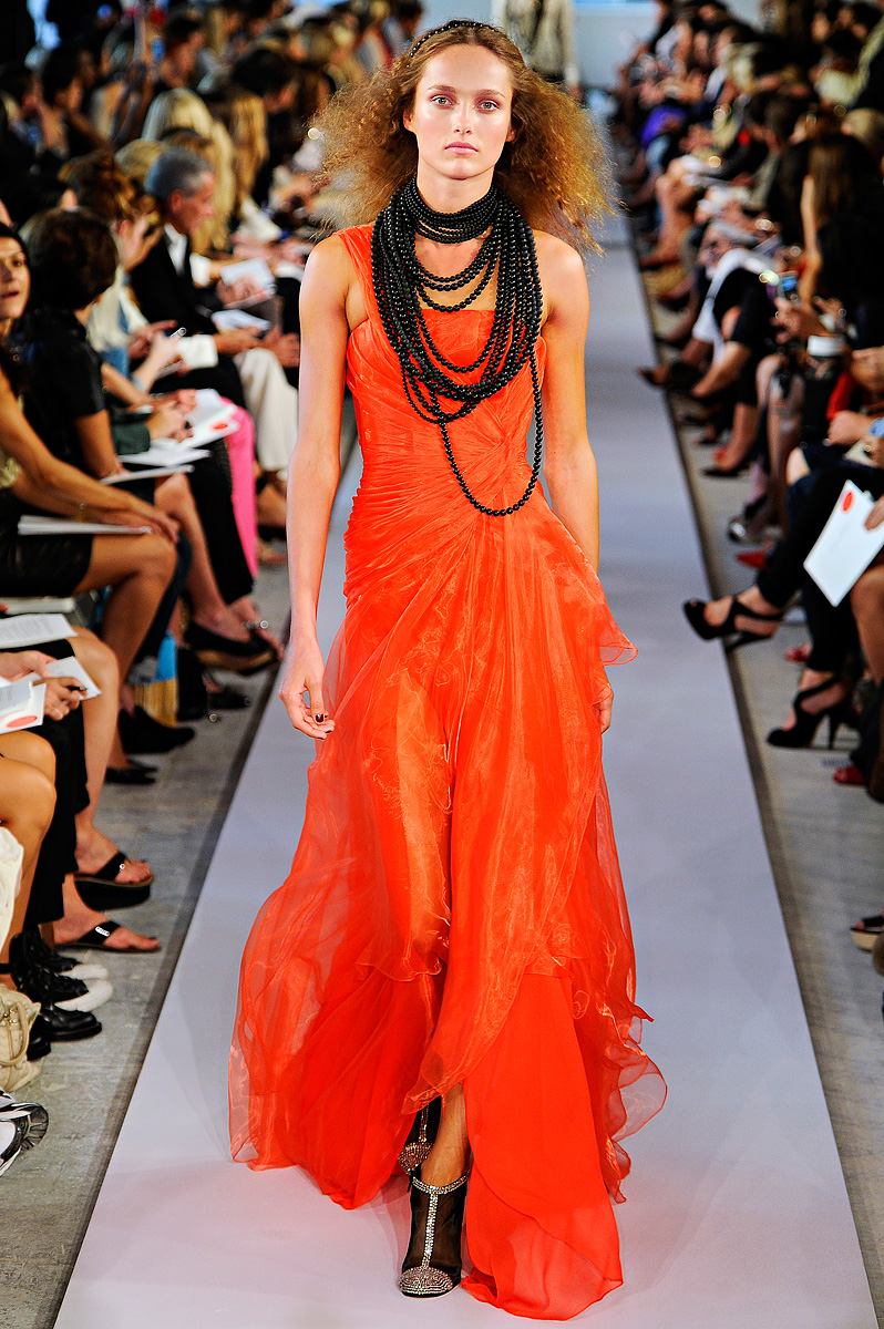 Oscar De La Renta Spring 2012 Mfd Multiple Fashion