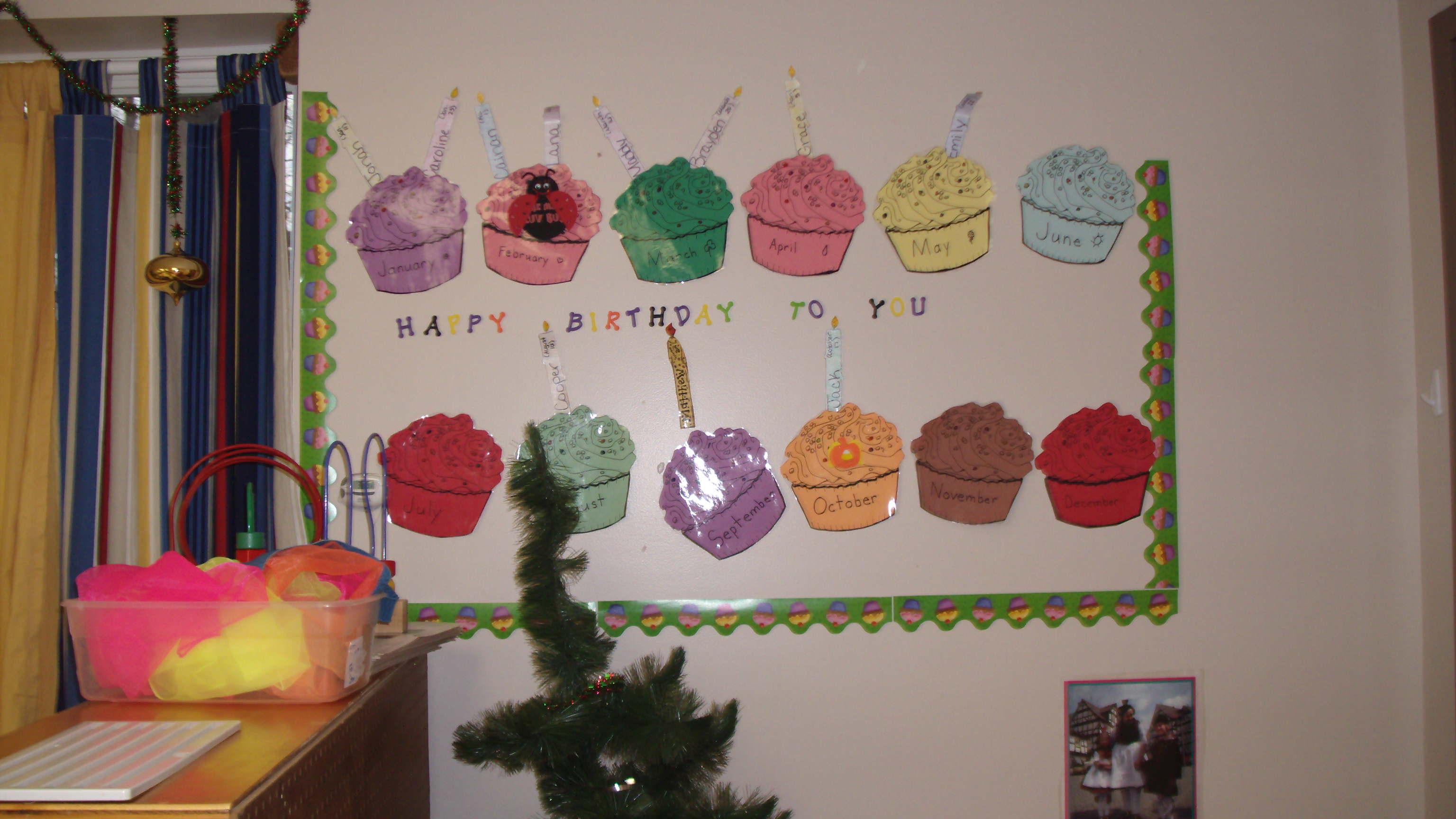 Birthday Wall Mumc Preschool
