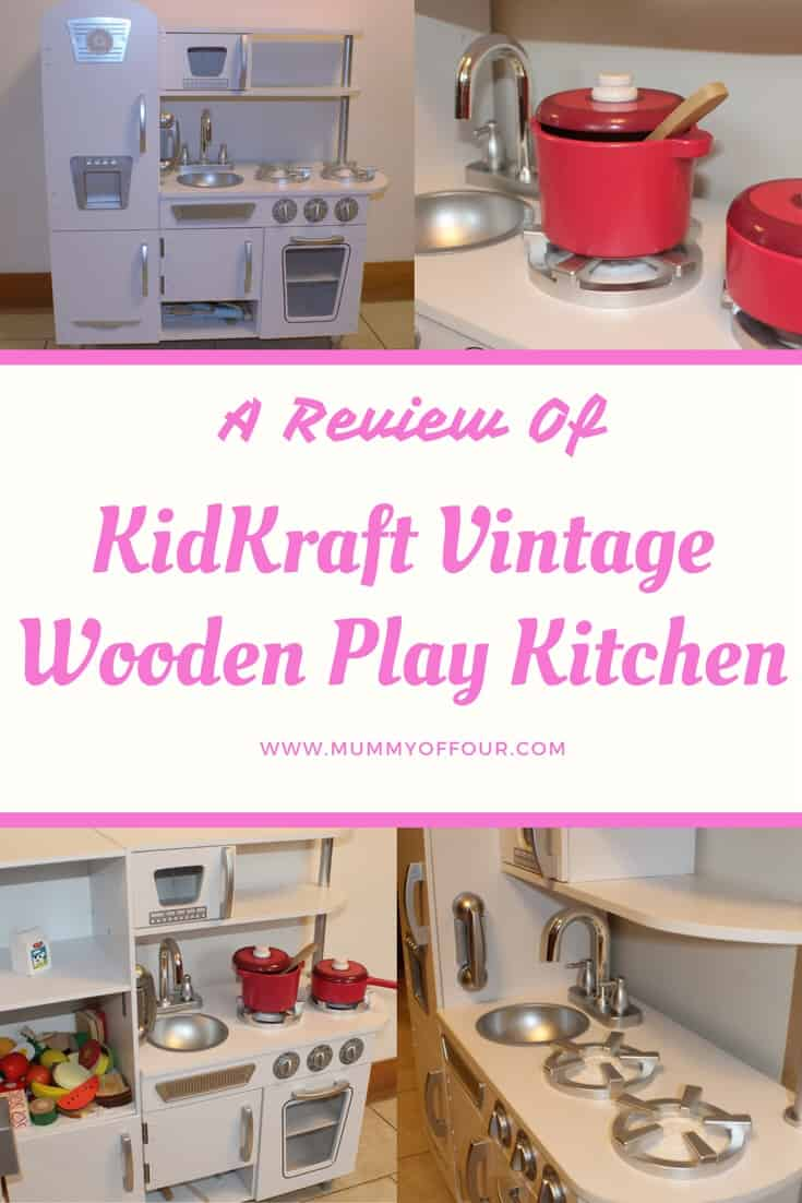 Kidkraft White Vintage Kitchen 53208