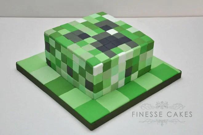 25 Minecraft Cake Ideas To Build Mum S Grapevine