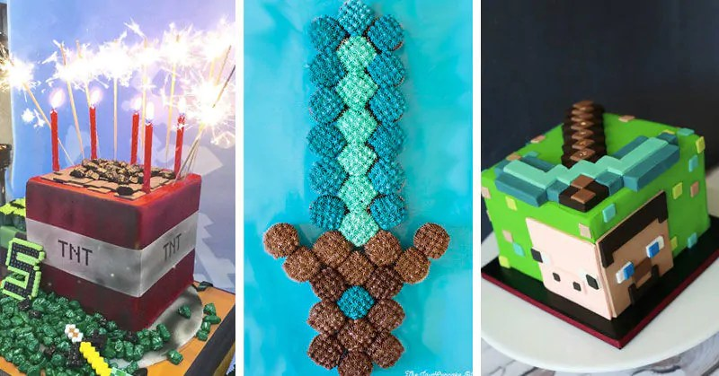 25 Minecraft Cake Ideas To Build Mum S Grapevine