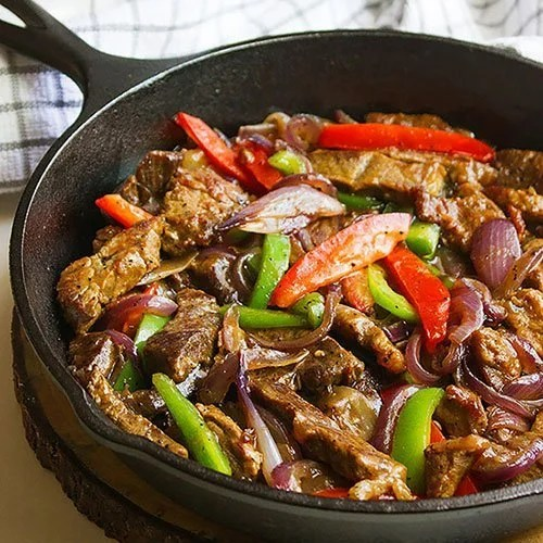 Pepper Steak With Onions Munaty Cooking