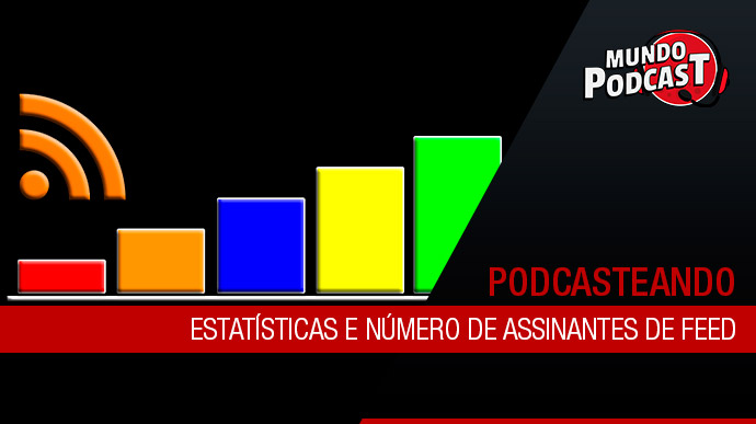 Estatísticas e número de assinantes de feed