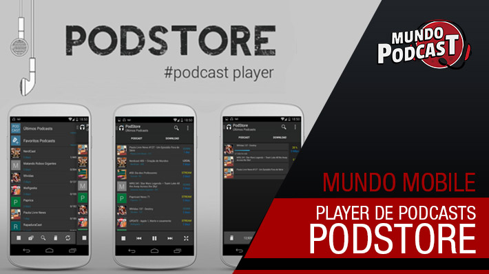Podstore – Podcast Player para Android